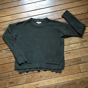 Madewell Patch Pocket Pullover Sweater J8782